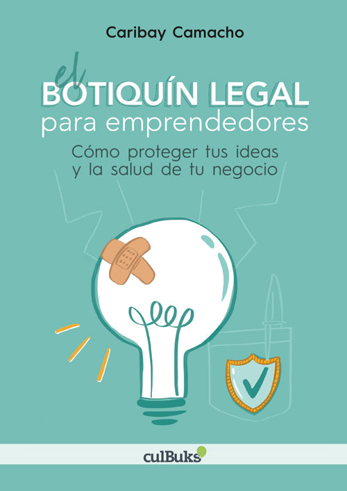 Portada libro Botiquín Legal para emprendedores